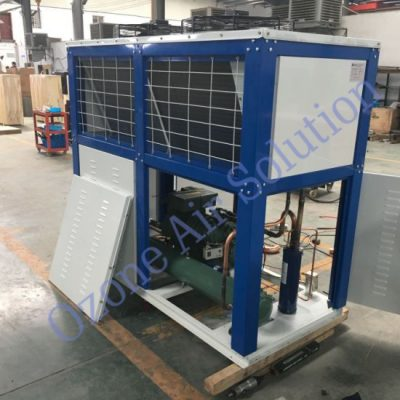 Semi-Hermetic-Piston-Compressor-V-Type-Air-Cooled-Condensing-Unit-Chiller-Unit